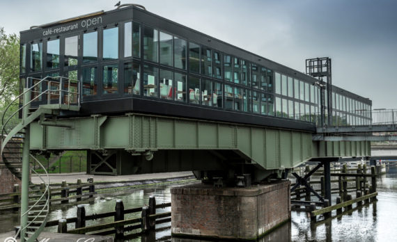 #restaurant_open #amsterdam #rail_bridge #canon #art #het_ij