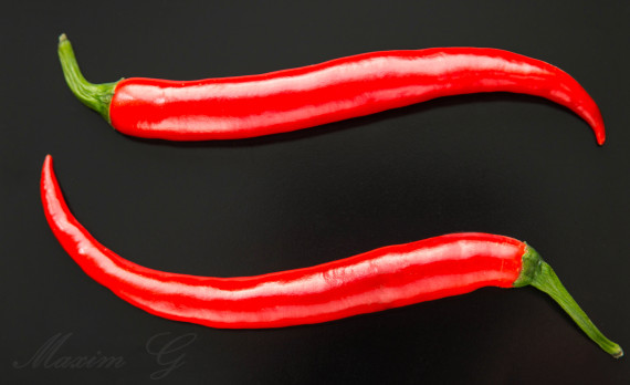 #Chili_pepper #canon #foodphotography #peppers