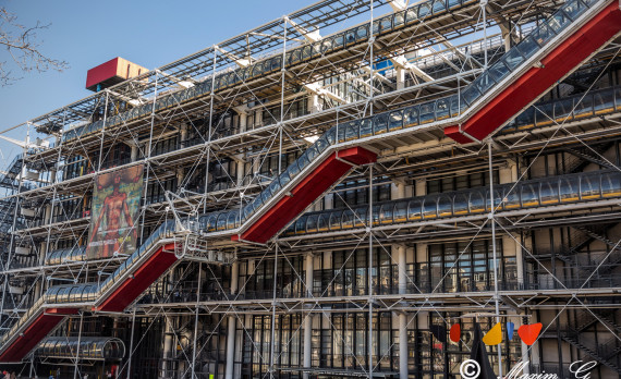 Centre Pompidou, Paris, colorful, design, art, canon