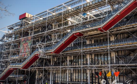 Centre Pompidou, Paris, colorful, design, art, canon