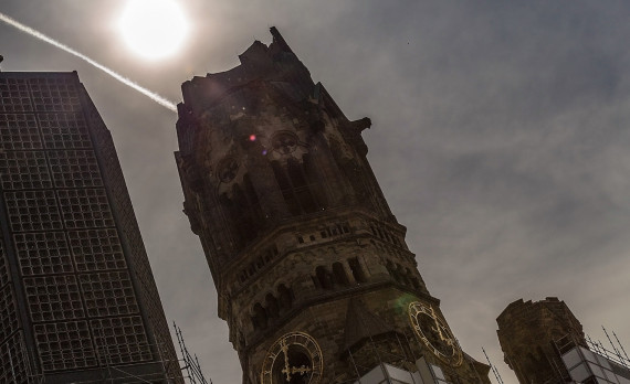 Kaiser Wilhelm Gedächtniskirche, church, berlin, canon