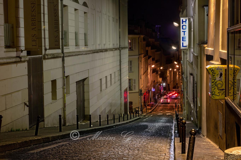 Rue Germain Pilon Paris