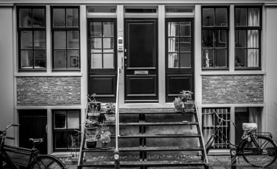 #stairs #house #black_and_white #amsterdam #canon #jordaan