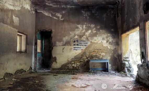 rhodes, Campochiaro-Eleousa, abandoned ,town, ruin, rodos, canon