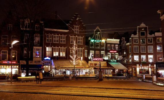 #Koningsplein #amsterdam #canon #nightphotography