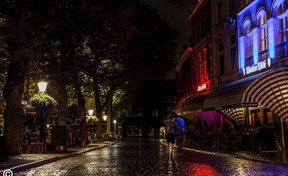 Maastricht, Onze Lieve Vrouweplein, terrace, terras, de lanteern, canon