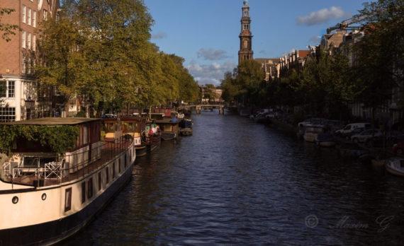#Prinsengracht #Amsterdam #westertoren #canon #westerkerk #jordaan