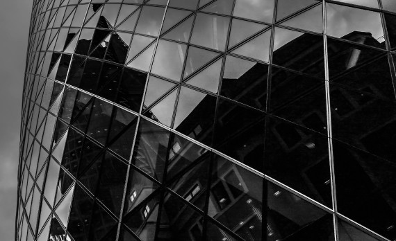 #the_Gurk #canon #office_building #london #black_and_white