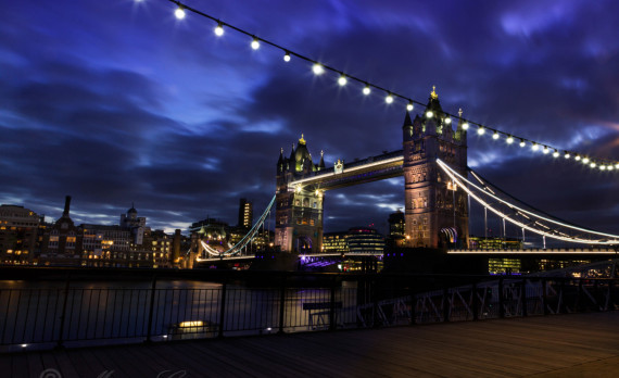 towerbridge, london , river, thames, nightphotography, longexposure, canon