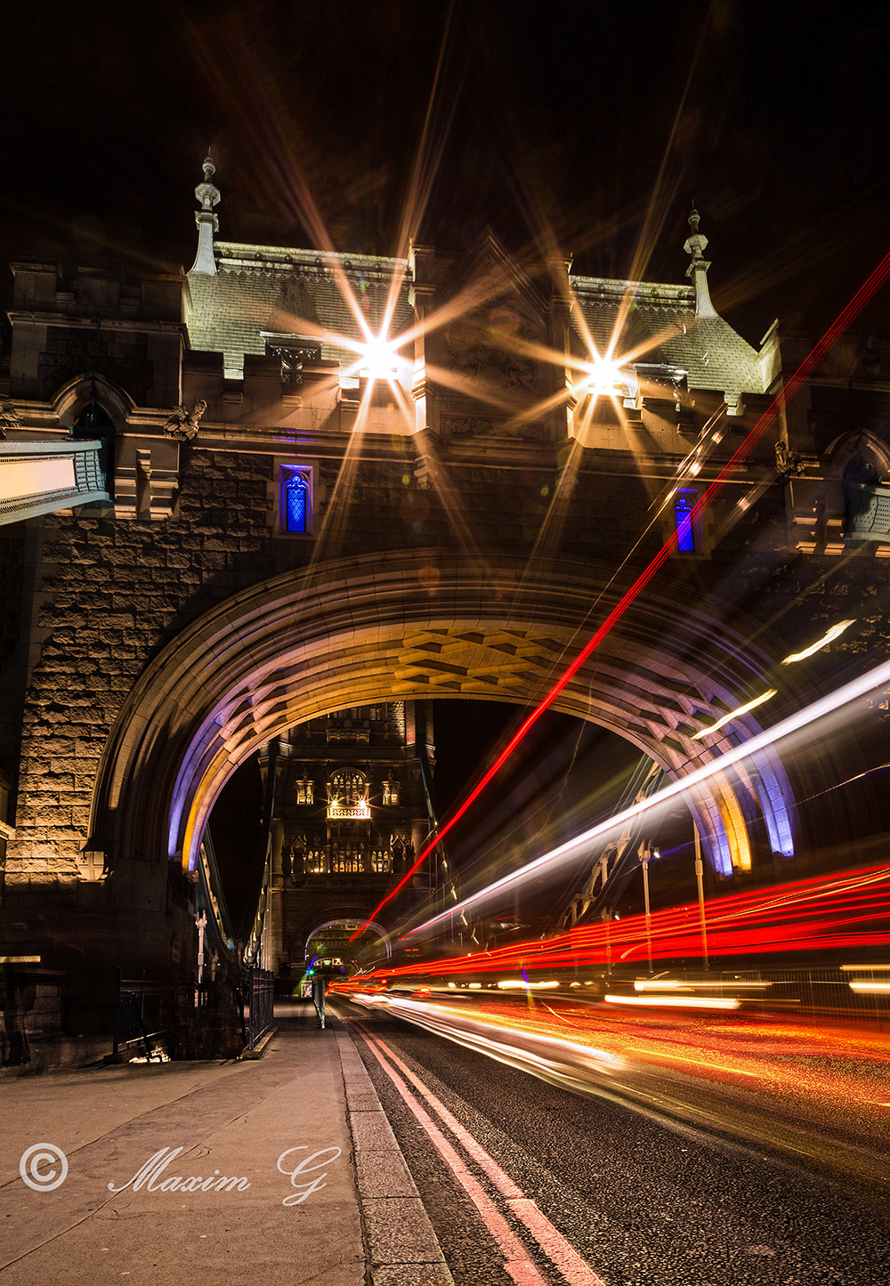 #tower_bridge #canon #longexposure #traffic #art