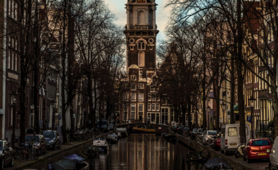 Zuiderkerk, Amsterdam, church, canals, canon