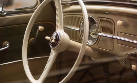 Volkswagen steeringwheel, speedometer, canon