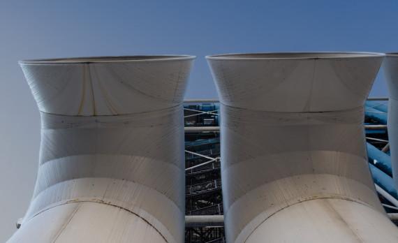Centre Pompidou, Paris, pipes, canon