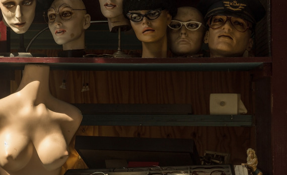 #shopwindow #bust #mannequin #heads #glasses #amsterdam #canon