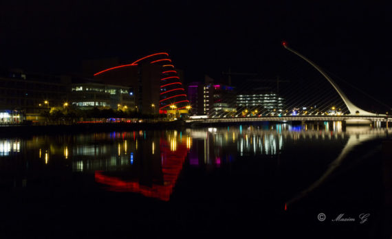 #Dublin #bridge #nightphotography #canon
