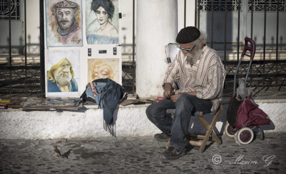 #streetartist #art #canon #greece # santorini #pictures are for sale