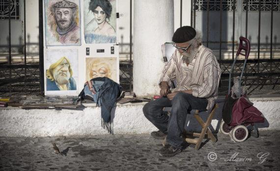 #streetartist #art #canon #greece # santorini #pictures are for sale