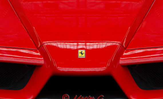 #F40 #ferrari #red #nose #spoiler #classic #carphotography