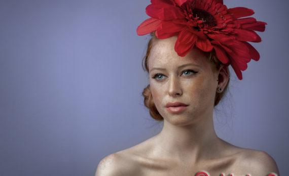 #portrait #ginger #femalemodel #canon #profoto